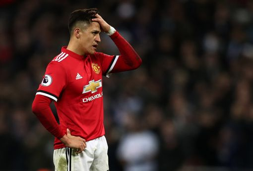 Alexis Sanchez failed to impress at Old Trafford