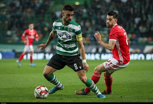 Bruno Fernandes in action