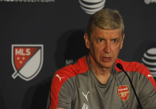 SAN JOSE, CA - JULY 26: Arsene Wenger the Arsenal Manager during a press Conference at The Fairmont Hotel on July 26, 2016 in San Jose, California. (Photo by David Price/Arsenal FC via Getty Images)