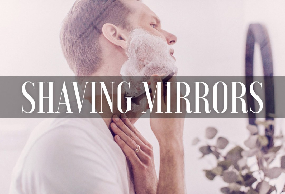 Best Shaving Mirror With Light Magnifying Wall-Mounted Fogless
