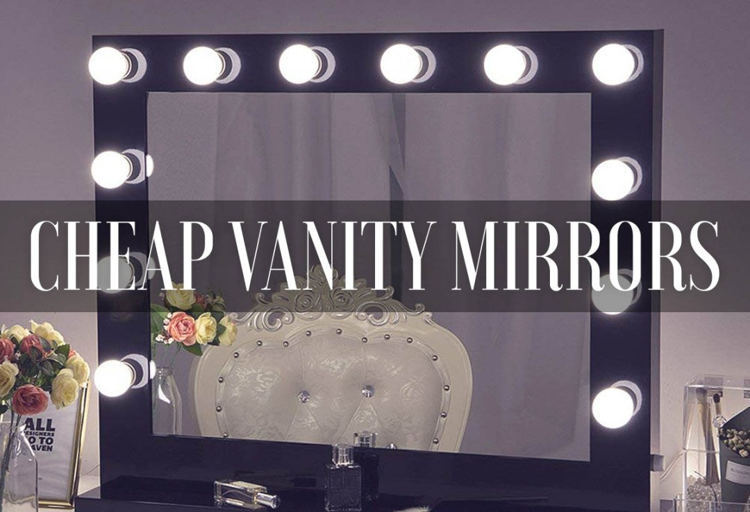Best Cheap Vanity Mirrors 2019 Reviews Table Wall Mirrorank