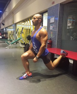 Mirror Friendly Featured Exercise: The Bulgarian Split Squat