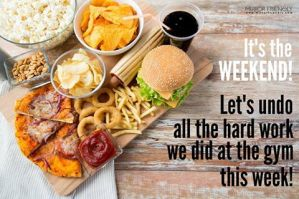 The Weekend Cheat-Meal Dilemma