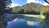 Shades of Haast Pass, South Island