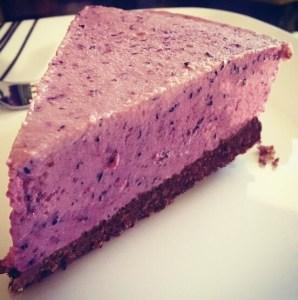 Mirror Friendly Blueberry Cheesecake