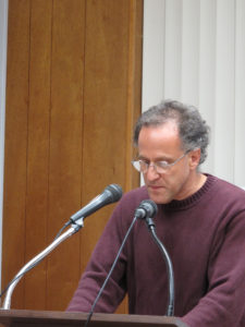 James Russell lecturing at the National Association of Armenian Studies and Research