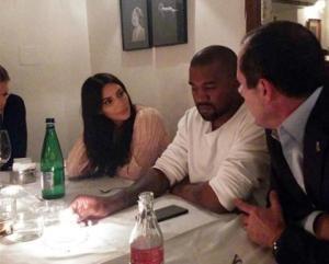 Kim Kardashian and her husband, Kanye West, dine with Jerusalem Mayor Nir Barkat