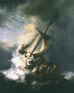 One of the Rembrandt paintings stolen from the Isabella Steward Gardner Museum
