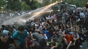 Protests in Yerevan were met with force