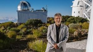 Dr. Garik Israelian at Teide Observatory on Tenerife