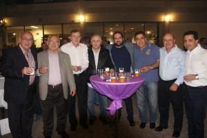 Members of the Ararat Lodge at the Knights of Vartan Fundraiser