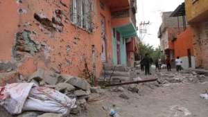 A Diyarbekir street