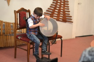 Volodya Sargsyan and his drum
