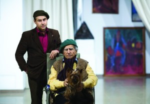"Archi Galentz, Nikolai Nikogosyan and Gougen in ""Niko"" cultural center. Moscow 2016. (Photo by Oleg Tzerbaev)"