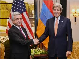 President Serzh Sargsyan and Secretary of State John Kerry