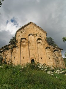 The Armenian church of Chordvan in Tayk (today near Yusufeli in the Rize province of Turkey)