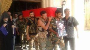 Funeral of Harut Baghdoyan