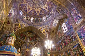 Holy Savior Cathedral in Isfahan