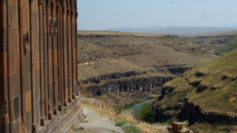 Ani, Kars, Turquía, Turkey, canyon