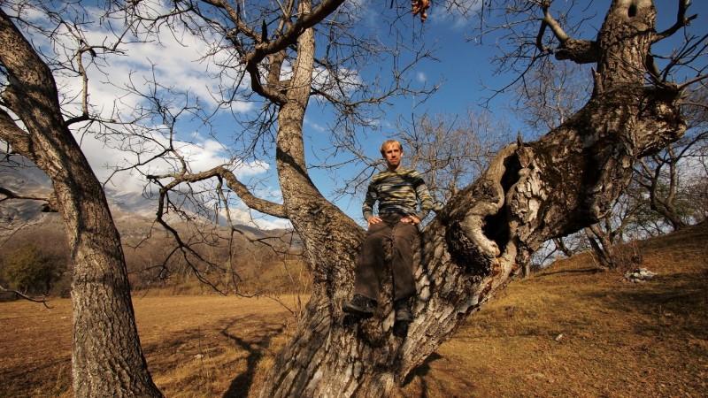PA294723  Arslanbob, Kyrgyzstan, Kirgistán, walnut forest, bosque nogal