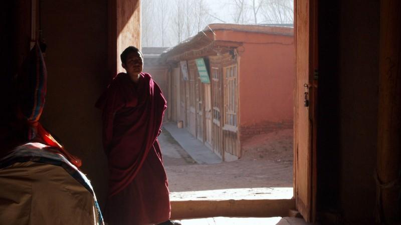 PB216007 Labrang, Xiahe, Buddish, monasterio, monastery, Tibet, China