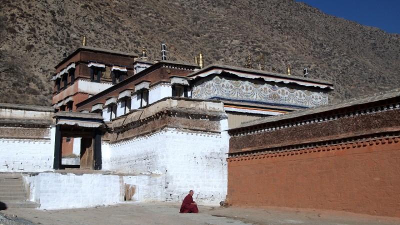 PB216056 Labrang, Xiahe, Buddish, monasterio, monastery, Tibet, China