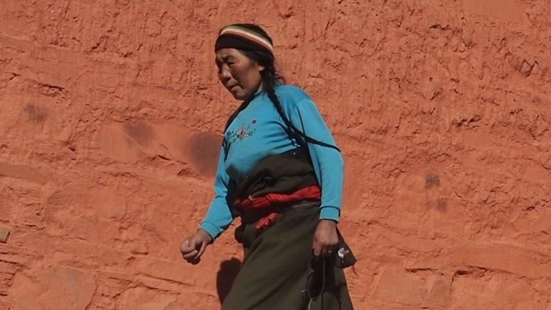 PB216083 Labrang, Xiahe, Buddish, monasterio, monastery, Tibet, China