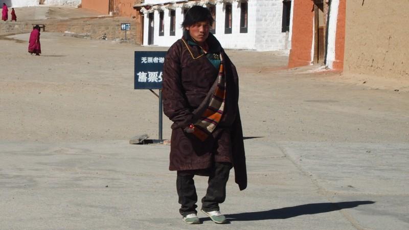 PB216164 Labrang, Xiahe, Buddish, monasterio, monastery, Tibet, China