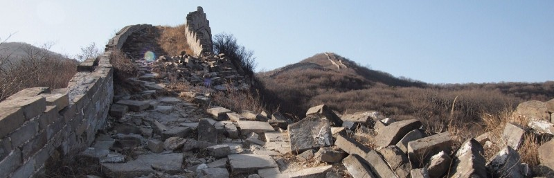 PB306715 China, gran muralla, great wall, Badaling