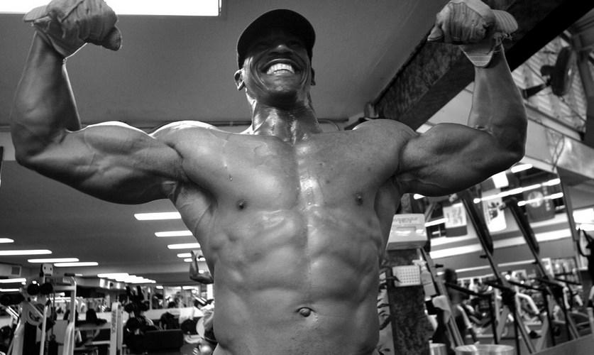 a muscular dude