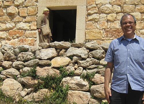 Réplica de sinagoga do 1º século em Nazaré