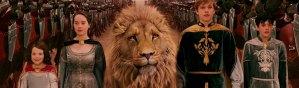 Coroação dos protagonistas de O Leão, a Feiticeira e o Guarda-Roupa
