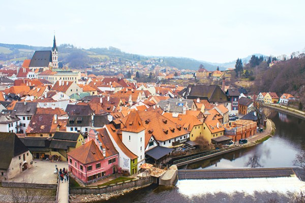 Panorama from the castle's tower. Photo: © Misa Gjone