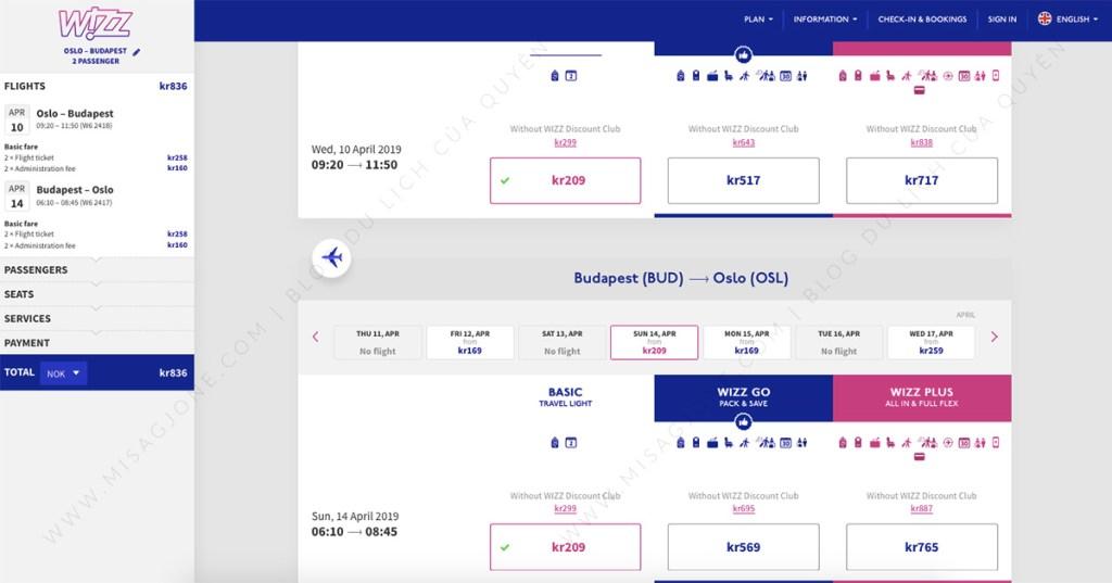 Hàng không giá rẻ châu Âu Wizz Air_01