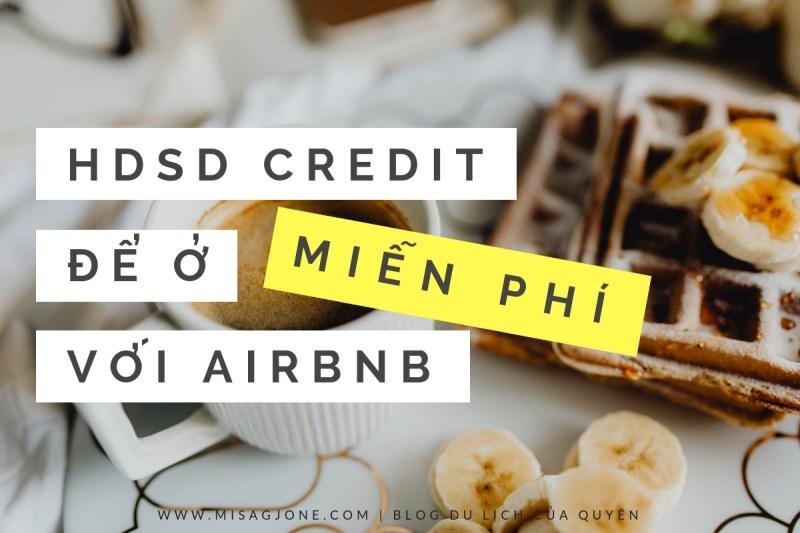 Dùng credit để book phòng Airbnb miễn phí _Thumb