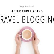 Things I've learned after three years travel blogging thumbnail