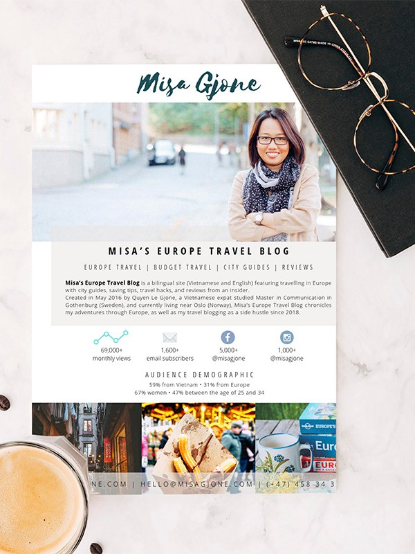 Media Kit – một phần tất yếu của blogger