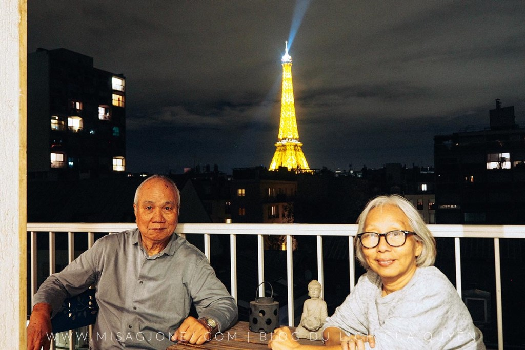 Review căn hộ Airbnb tại Paris 01