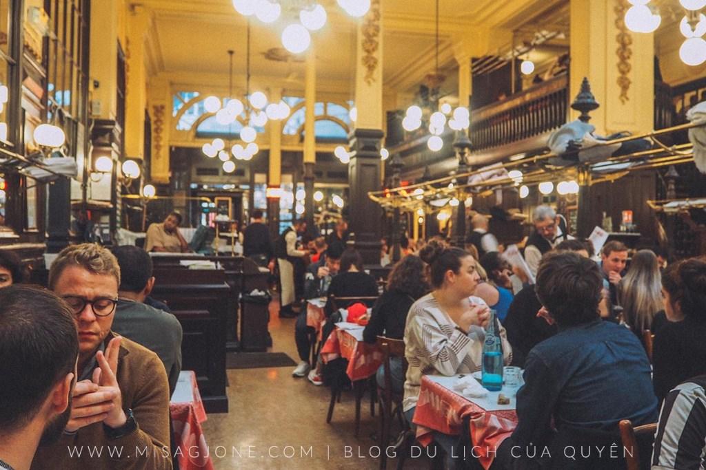 Review nhà hàng Bouillon Chartier 01