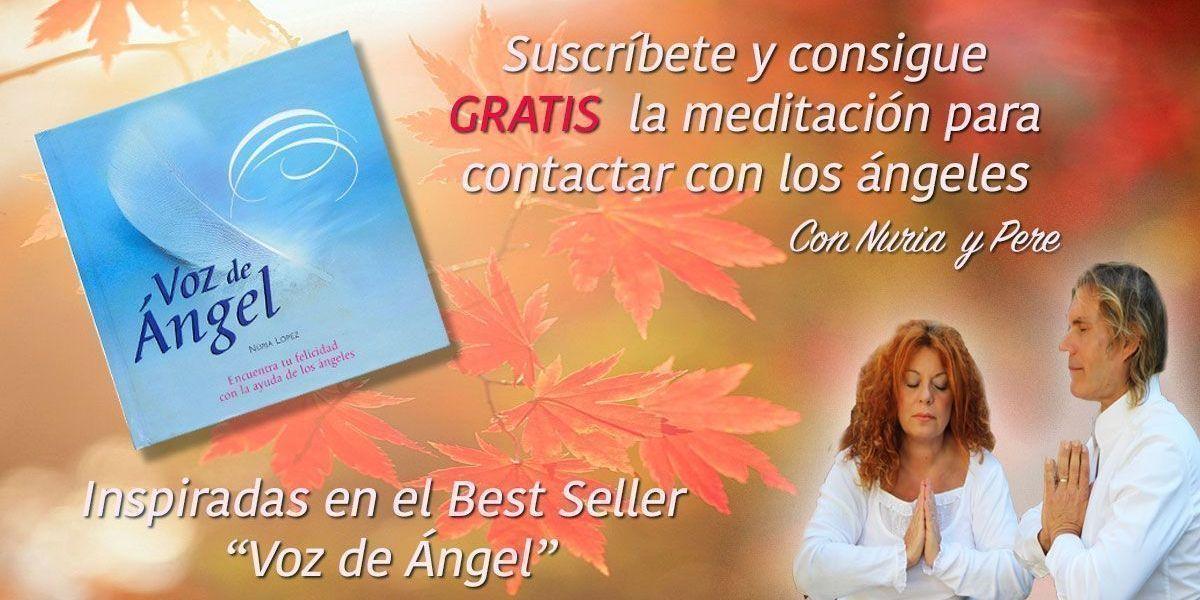 Meditación guidad por Nuria López y Pere Pascuet para contactar con los ángeles