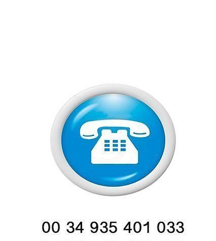 llama al telefono del Museu dels Angels de Barcelona