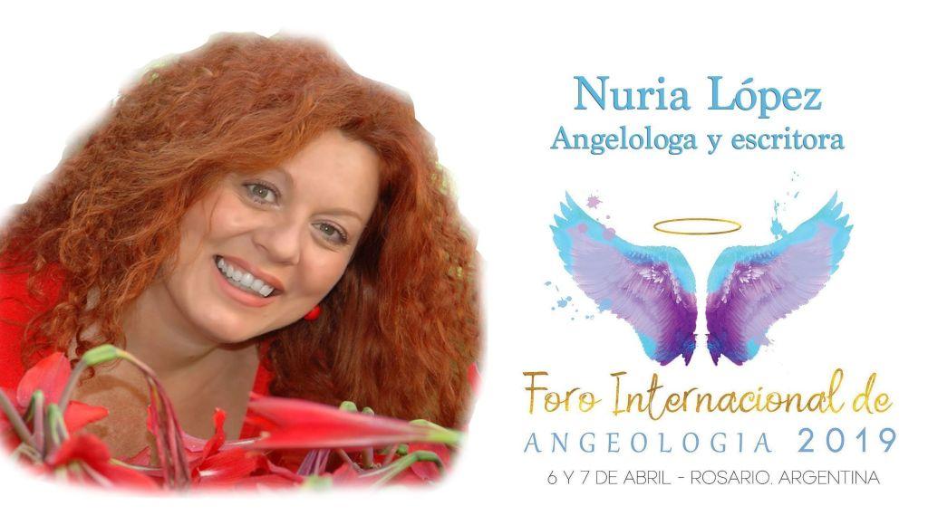 Nuria-López-Foro internacional de Angeología
