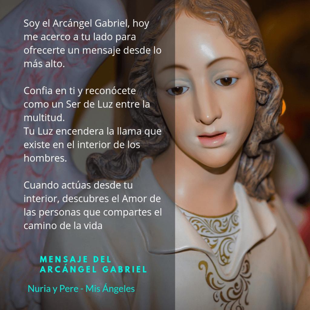 Mensaje del Arcángel Gabriel