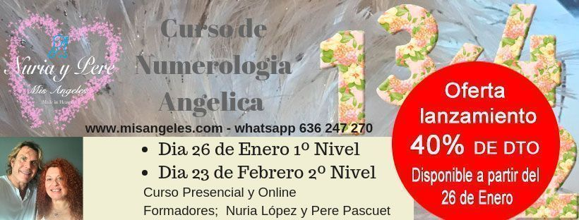 curso de numerologia angélica con Nuria Lopez y Pere Pascuet