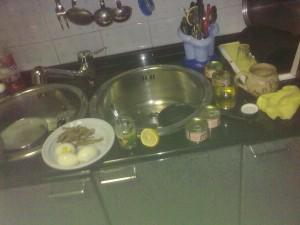 Ingredienti salsa vitello tonnato
