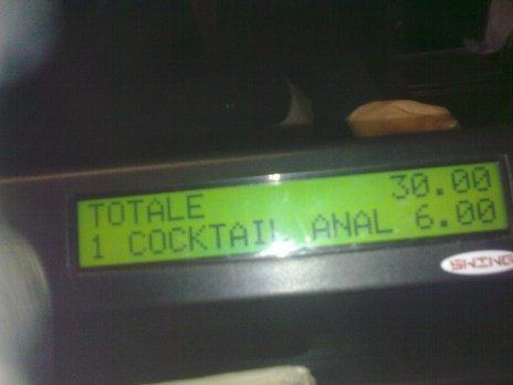 Cocktail Anal