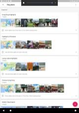 Von Google bzw. anderen Nutzern vorgeschlagene Tagesausflüge