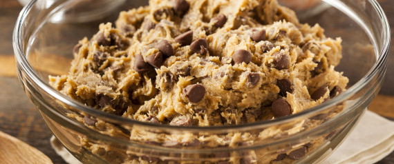 egg-free cookie dough. you know you want it