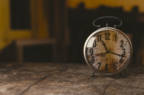 Time waits for no person