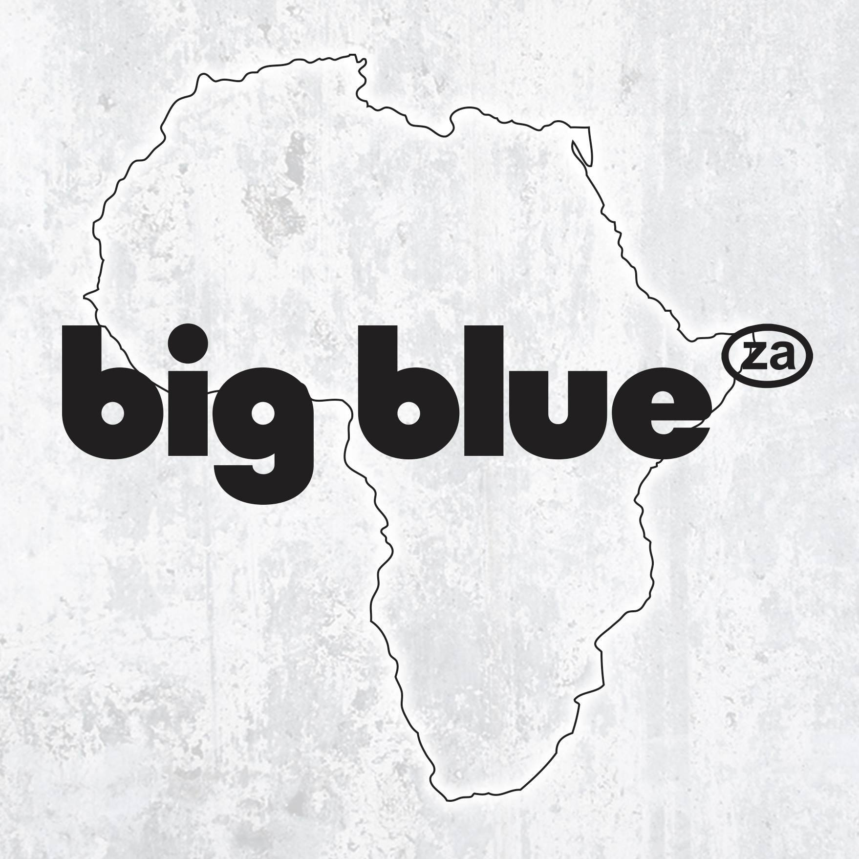It's big and um blue… It's big blue!